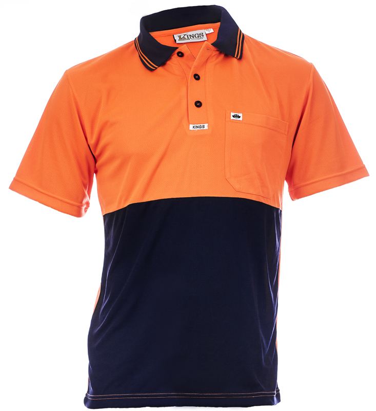 600-10 Orange/Navy Image