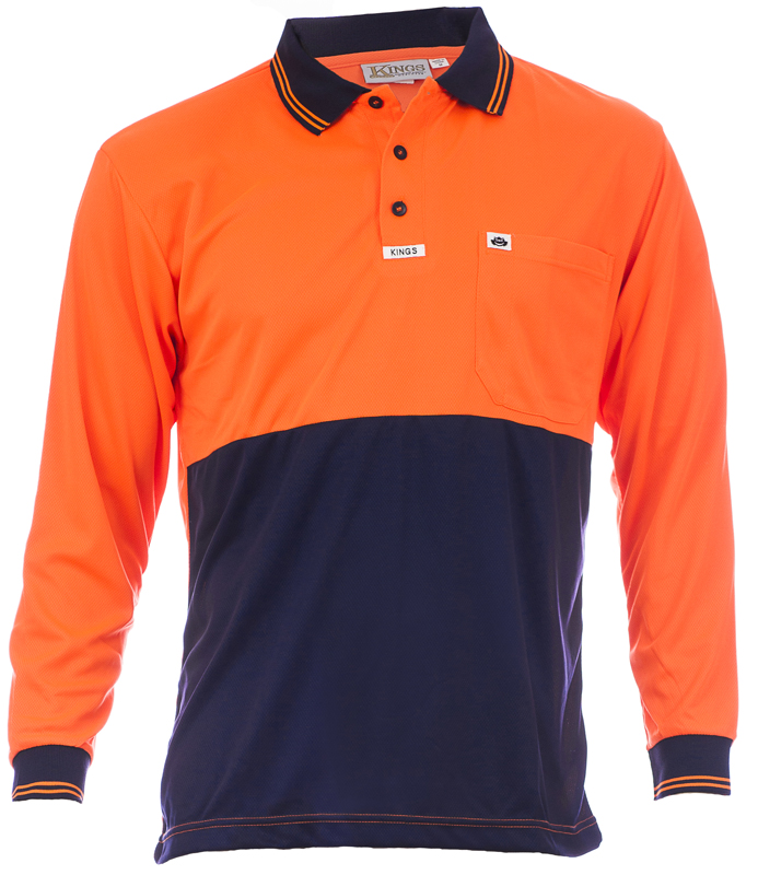 601-10 Orange/Navy Image