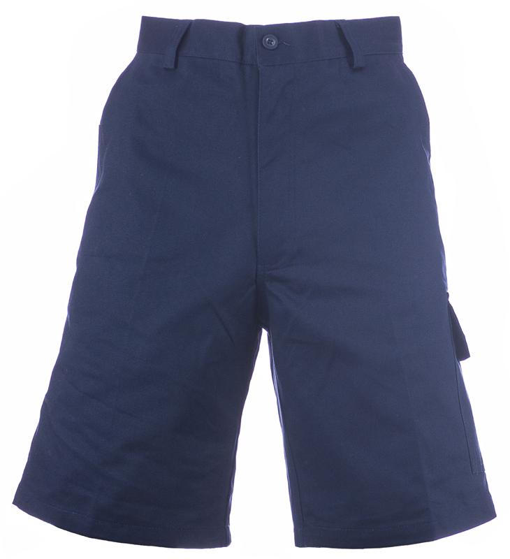 300-01 Navy Cargo Shorts Image